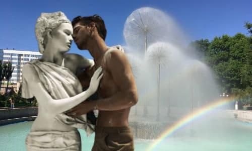 Любовь к статуям
